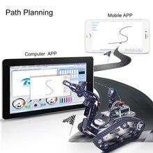 Nouveau Kit de voiture Robot de réservoir Programmable TH WiFi FPV avec bras pour framboise Pi4 (2G) -ligne de patrouille évitement dobstacle petite griffe