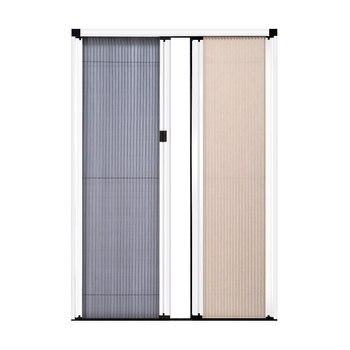 Trackless screen door-net bee combination