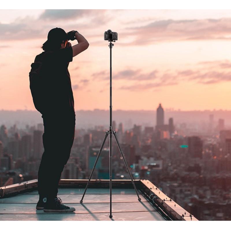 Gezhimi P5 micro single camera tripod ultra-light portable travel SLR tripod mobile phone general professional outdoor photo pho enlarge