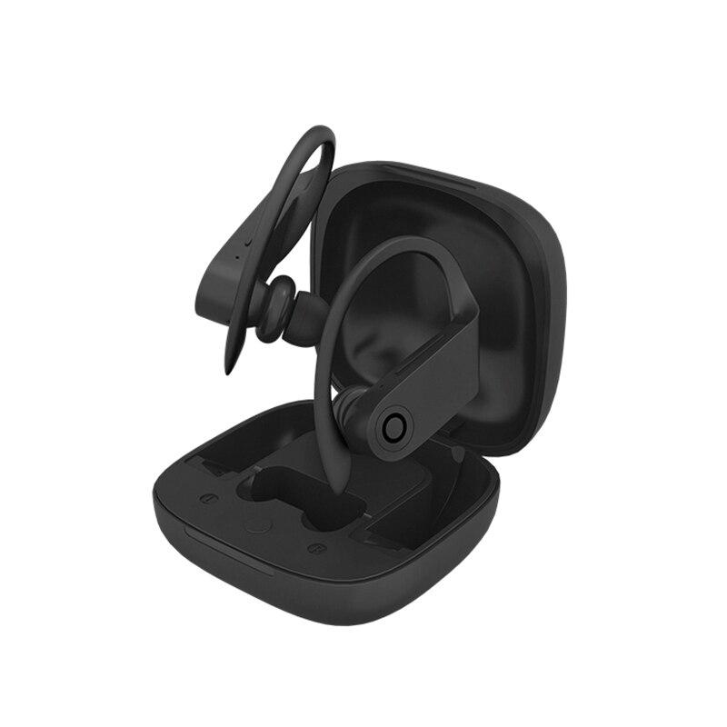 Auriculares inalámbricos HBQ TWS Bluetooth 5,0 auriculares estéreo 6D auriculares con gancho para auriculares impermeables HBQ Q62