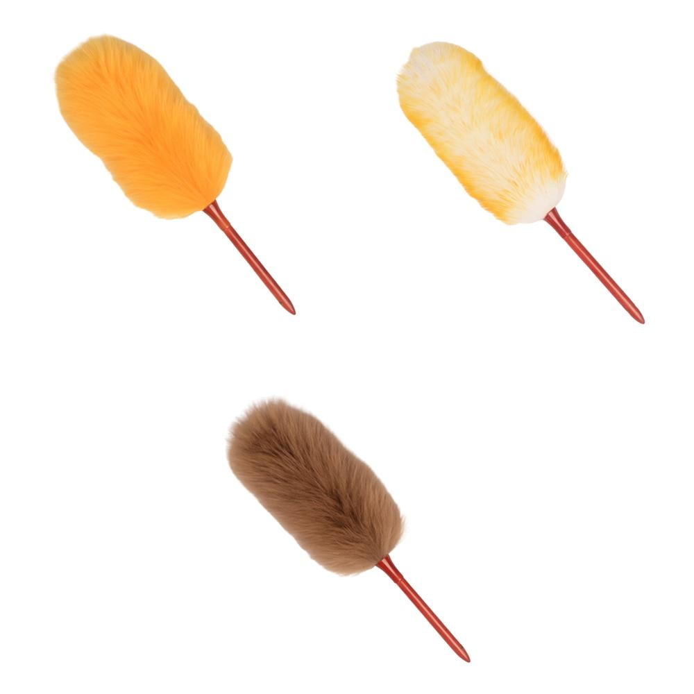 Plumero de lana el cepillo de polvo cepillo de limpieza del polvo del hogar cepillo de limpieza plumero para la luz de la escoba del polvo y fácil de usar
