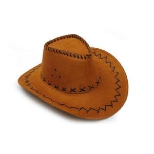 Western Cowboy Straw Cool Rider Men Women Summer Sun Hats Chicken Skin Velvet Outdoor Travel Leisure Big Brim Cap Jazz Hat A9