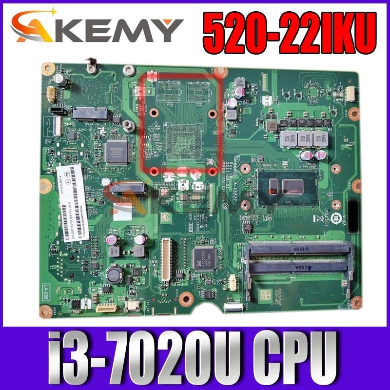 ل AIO 520-22IKU LA-E882P é كفاية الفقرة لينوفو اللوحة i3-7020U DDR4 100% o trabalho دي teste دي واجهة pode ser unive