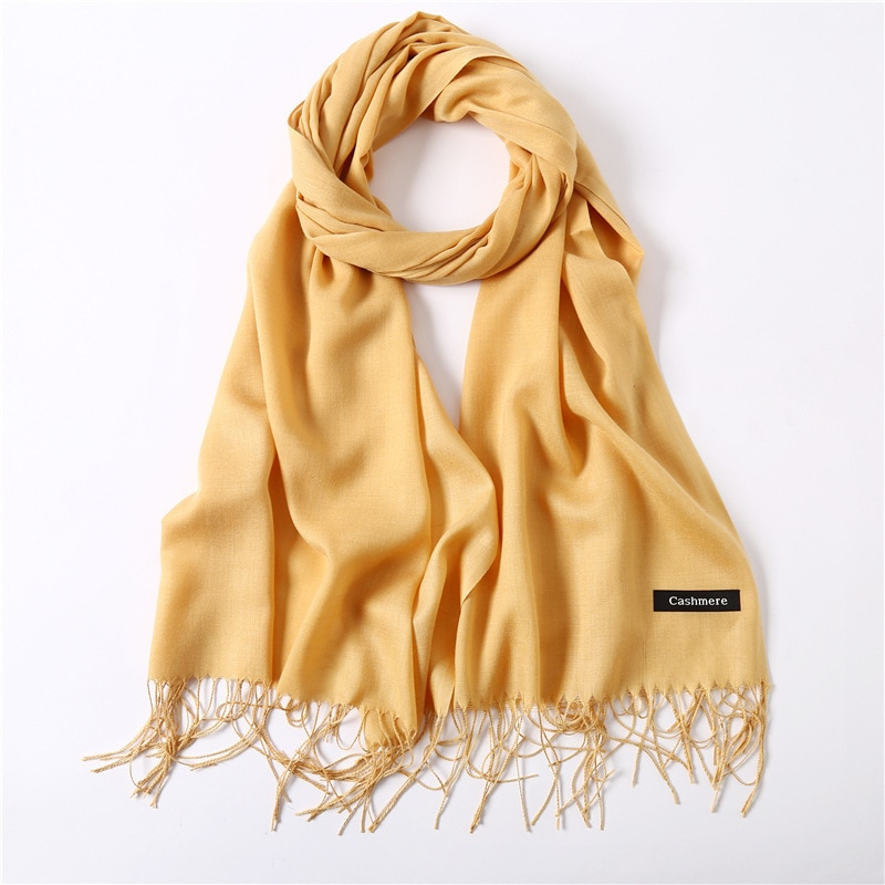 2021 Fashion summer women scarf thin shawls and wraps lady solid female hijab stoles long cashmere p