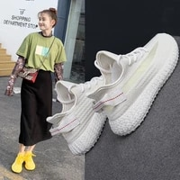 coconut shoes womens sports shoes 2021 summer new breathable flying shoes casual womens shoes trend