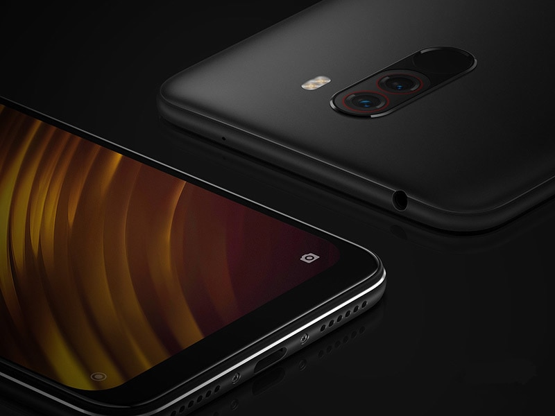 Фото4 - Оригинальный Xiaomi Redmi POCO F1 6 ГБ ОЗУ 128 ГБ ROM Snapdragon 845 Octa, четыре ядра, смартфон с функцией отпечатков пальцев (MIUI 11 4000 мА/ч, 20.0MP 4 аппарат не привяза...