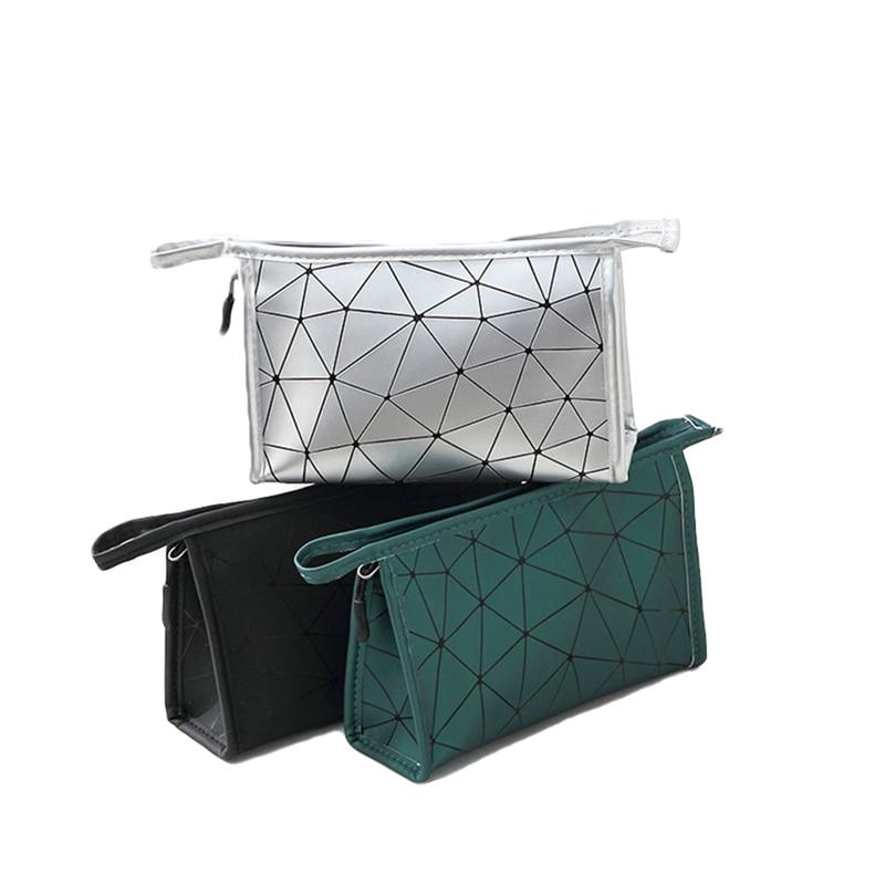 2020 mode-Trend Frauen Damen Neue Kleine Make-Up Tasche Tragbare Wasserdichte Kosmetische Veranstalter Pflegespeicher Tote Box S-L