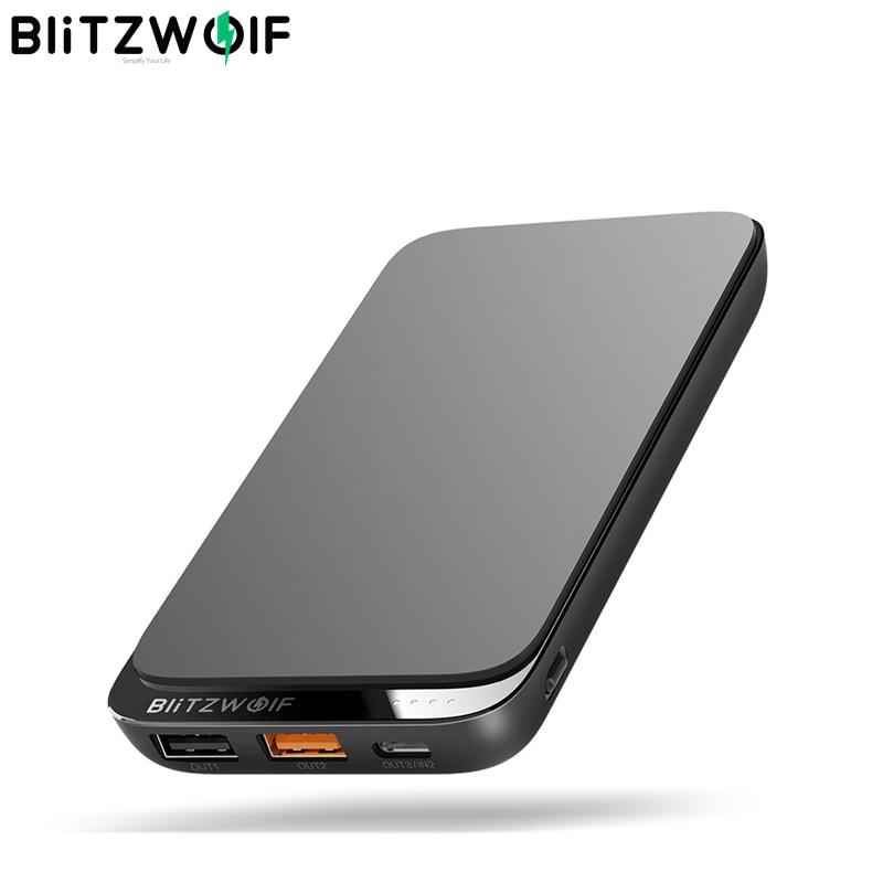 BlitzWolf BW-P10 10000 mAh - PD + QC3.0