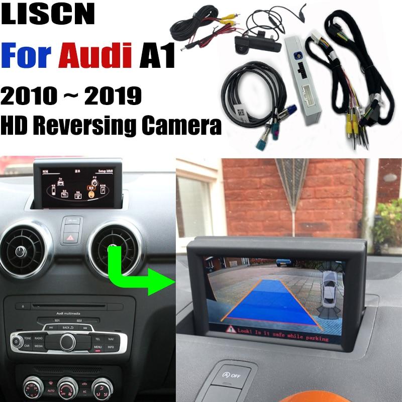 Promo car rear camera For Audi A1 8X 2010 ~ 2019 backup Camera Interface Original Screen upgrade Decoder Reversing camera DVR