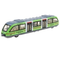 cool pull back city rail transit trolley bus toy kids vehicles playset xmas gift