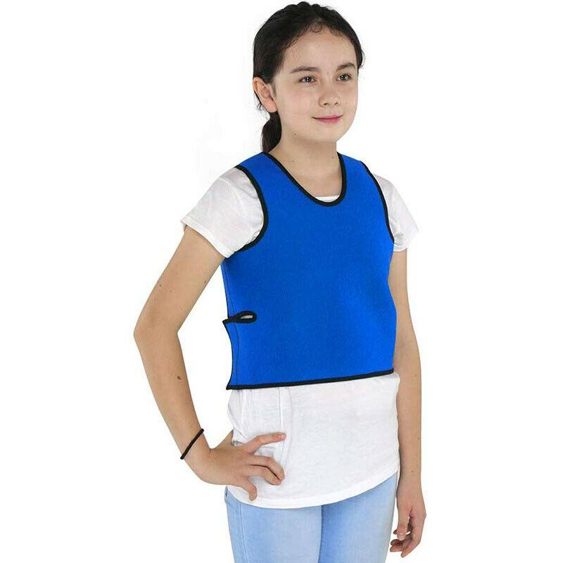 Sensoriale Pressione Profonda Della Maglia per I Bambini Weighted Vest Compressione Maglia per Autismo