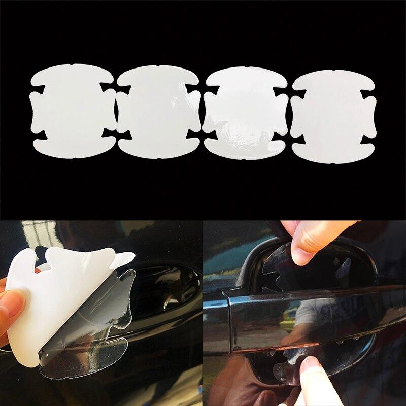 Película protectora para manija de puerta de coche, nuevo estilo, accesorios para...
