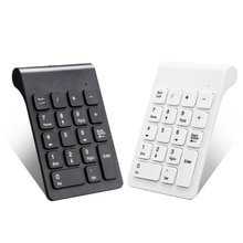 2.4GHz Wireless Numeric Keypad 18 Keys Digital Mechanical Gaming Keyboard For Accounting Teller Lapt