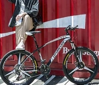 new mountain bike male and female adult bicycle variable speed cross country student road racing