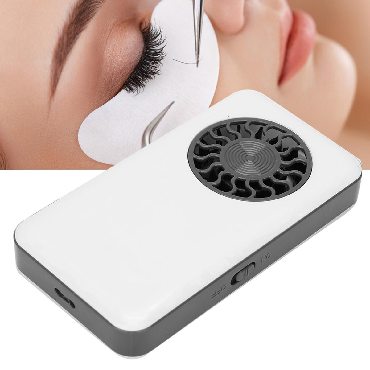 Мини Портативный USB вентилятор Ручной фен для ресниц Кондиционер воздуходувка для ресниц прививка тушь для ресниц клей для наращивания рес...