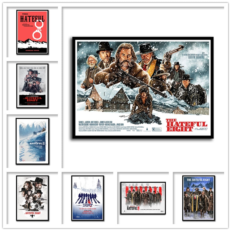 quentin-tarantino-classic-movies-the-hateful-eight-wall-stickers-white-coated-paper-prints-high-definition-home-decoration