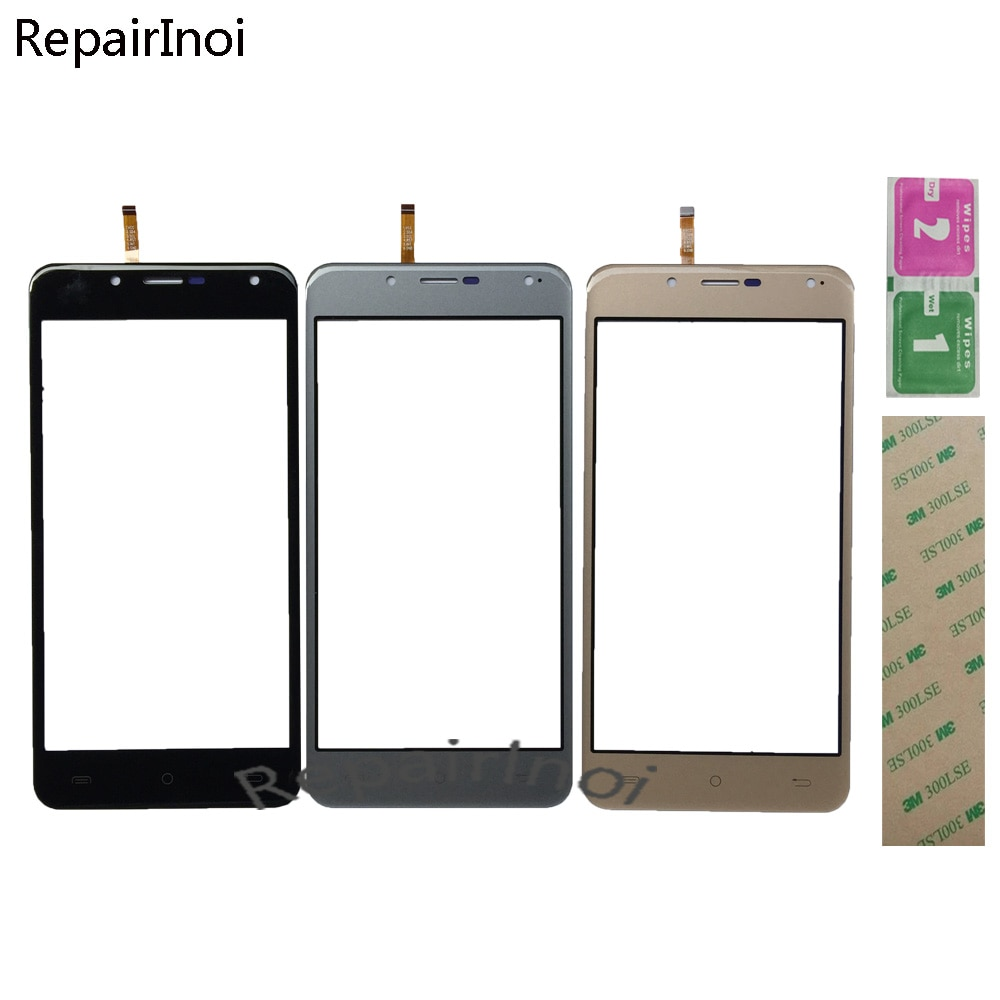 10Pieces/Lot Touch Screen For Cherry Mobile Flare P1 Digitizer Panel Lens Sensor TouchScreen Replacement Part 3M Glue