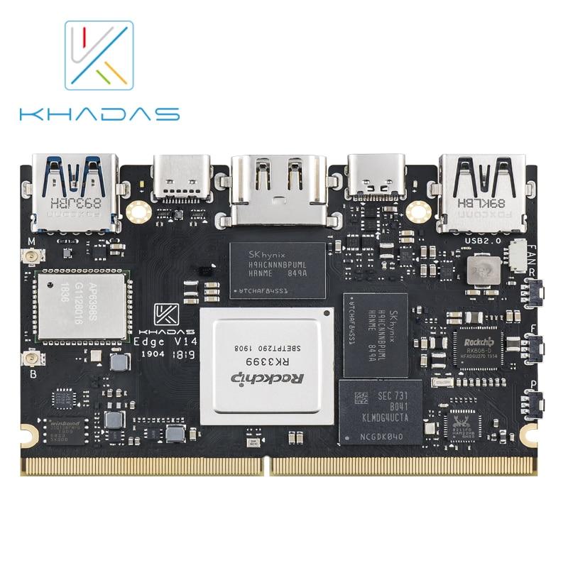 Rockchip rk3399 soc demo board borda pro de khadas