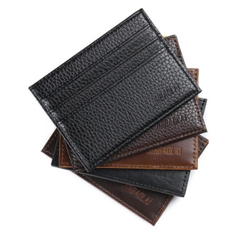 Business Card Holder Slim Bank Credit Card ID Card Holder Case Bag Wallet Holder