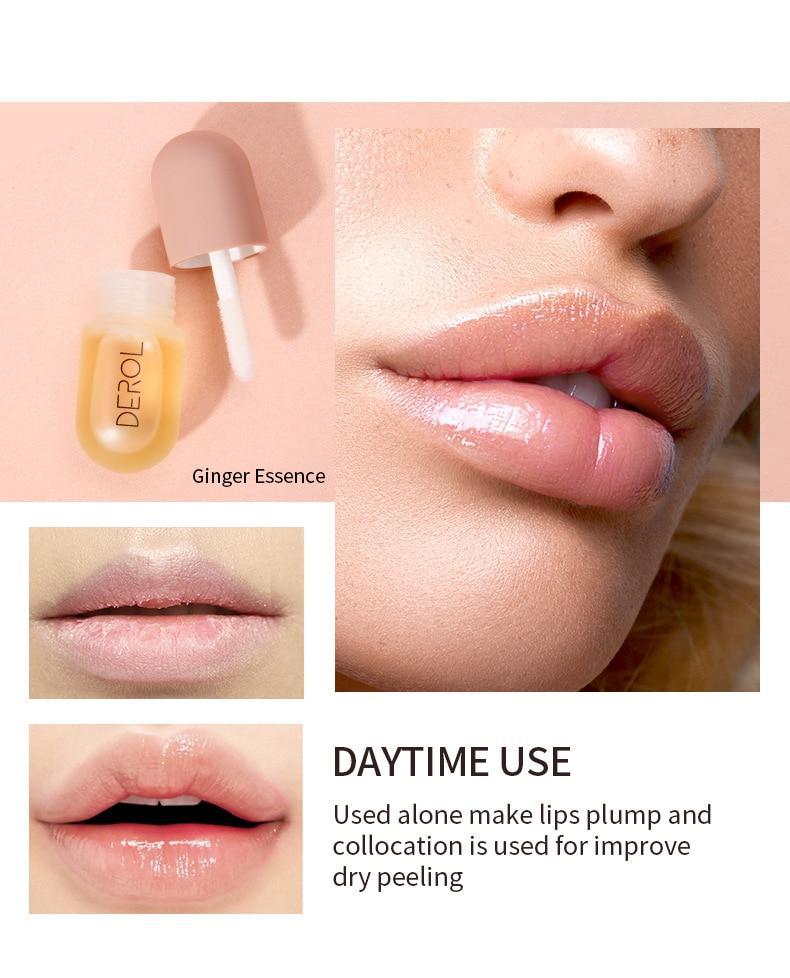 Blast DEROL ginger mint rich lip fluid increase moisturizing moisturizing lip sleeve box lip augmentation liquid Nutritious