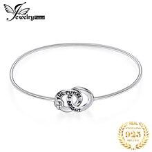 JewelryPalace الحب دائرة سوار 925 فضة سوار أساور أساور للنساء الفضة 925 صنع المجوهرات المنظم