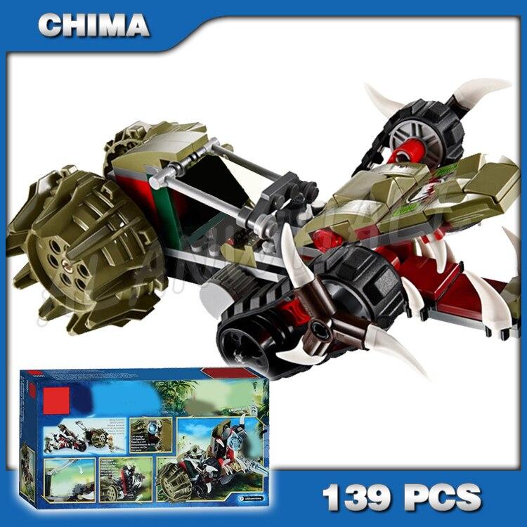 139 pièces Crawley griffe Ripper Lion tribu Leonidas 10052 CHI modèle blocs de construction enfants garçons cadeaux ensembles compatibles avec