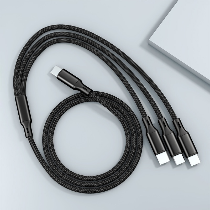 Cable Usb Tipo C 3 en 1, Cable Micro Usb de 8...