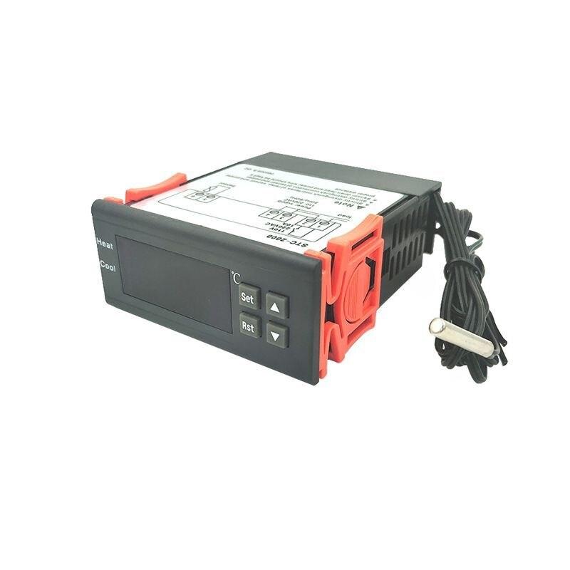 STC-2000-controlador de temperatura digital, termopar con sensor, 220V -55 ~ 120 grados...