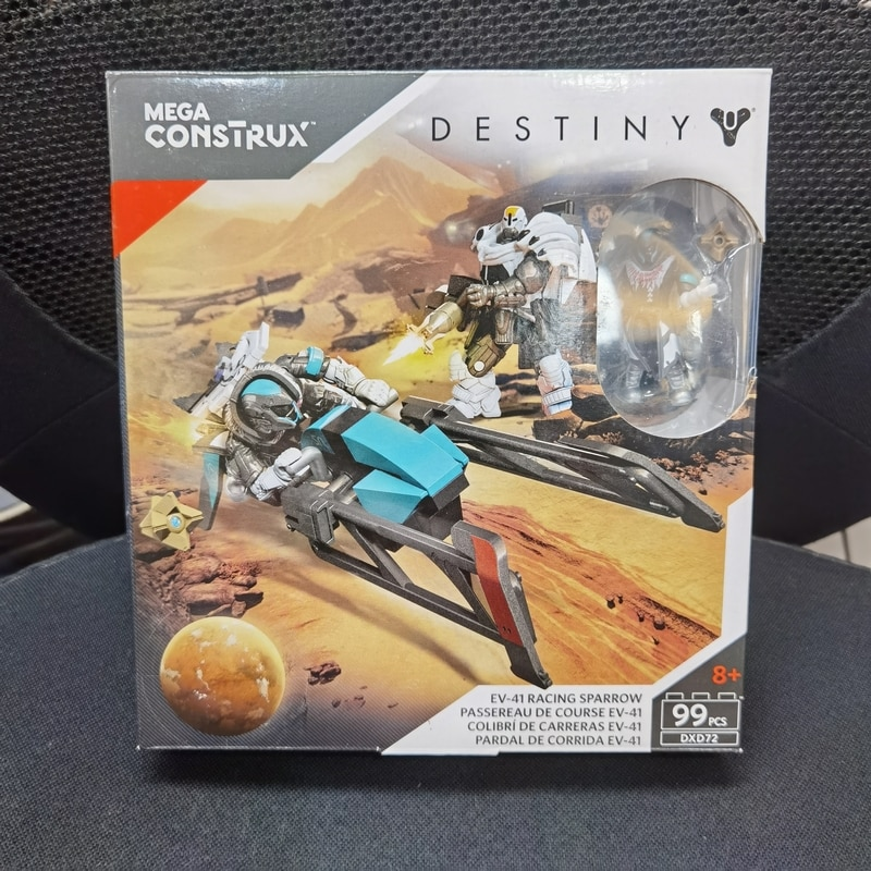Destiny EV-41 Racing Sparrow Mega Building bloks Set (99 pcs) DXD72