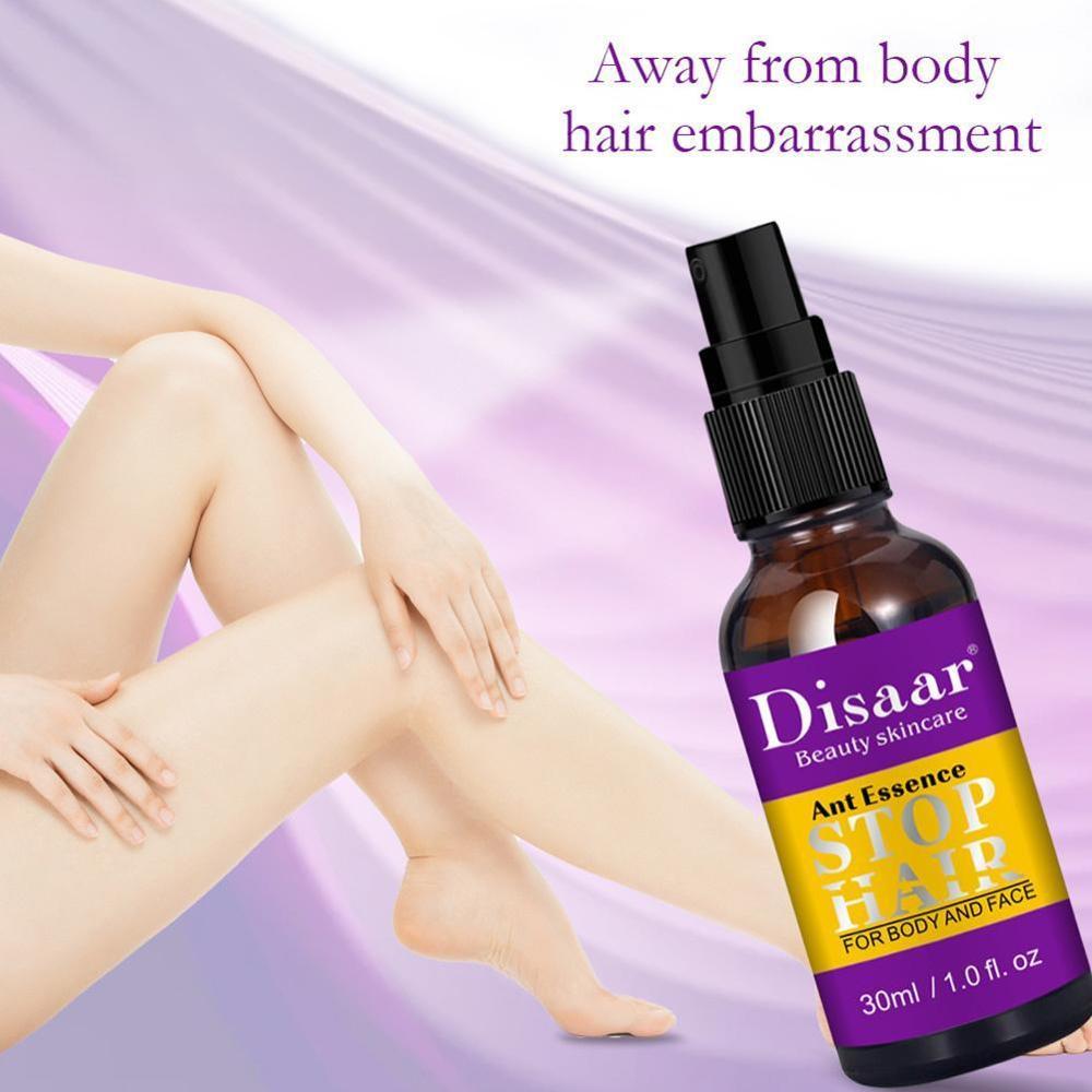 1 ud. De pulverizador hidratante suave para la supresión del cabello sin estimulación, agente para el crecimiento del cabello, belleza, cuidado de la piel