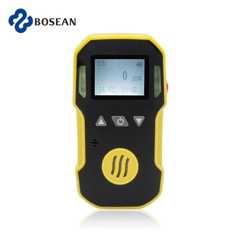 Портативный Озоновый детектор газа O3 метр ABS & Grip резиновая вода, пыль и взрывобезопасный USB Перезаряжаемый 0-20ppm Ozono