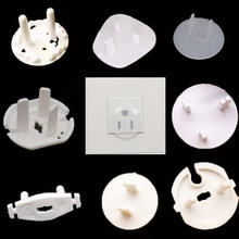 8pcs Baby Safety Child Electric Socket Outlet Plug Protection Security Safe Lock Cover Kids Sockets