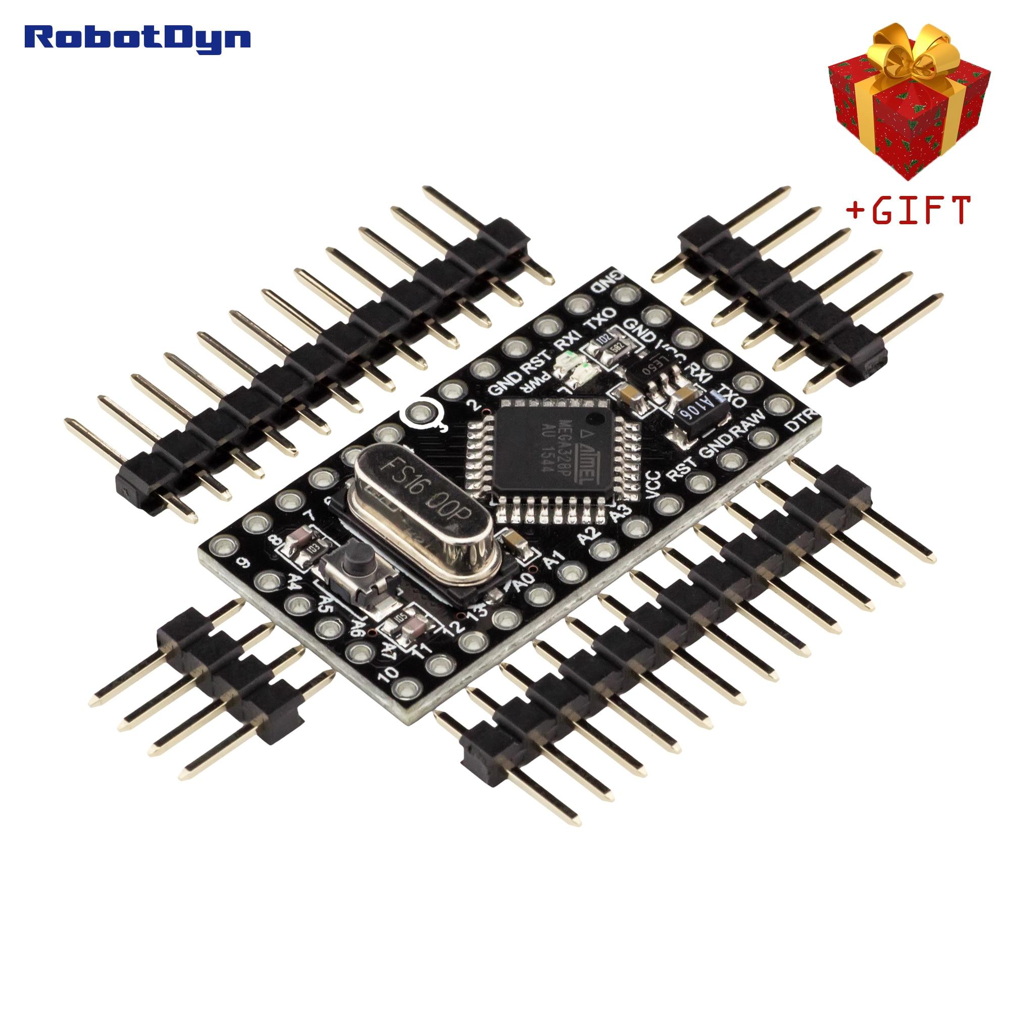 Pro Mini ATmega328P 5V, Compatible for Arduino Pro Mini Mega 328. Add A6/A7 pins