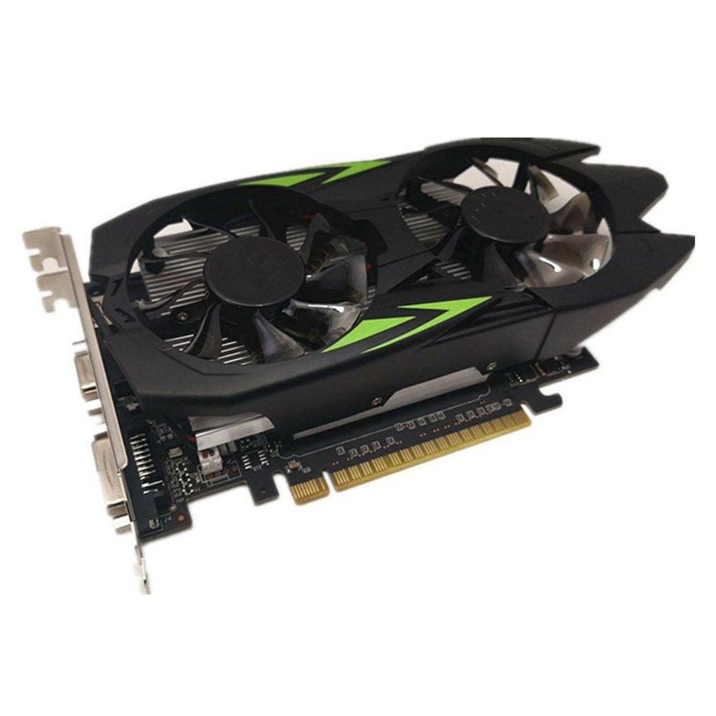 1 قطعة العلامة التجارية جديد Gts450 1G DDR5 الفيديو بطاقة كمبيوتر مكتبي بطاقة جرافيكس لعبة 128 بت بطاقة جرافيكس