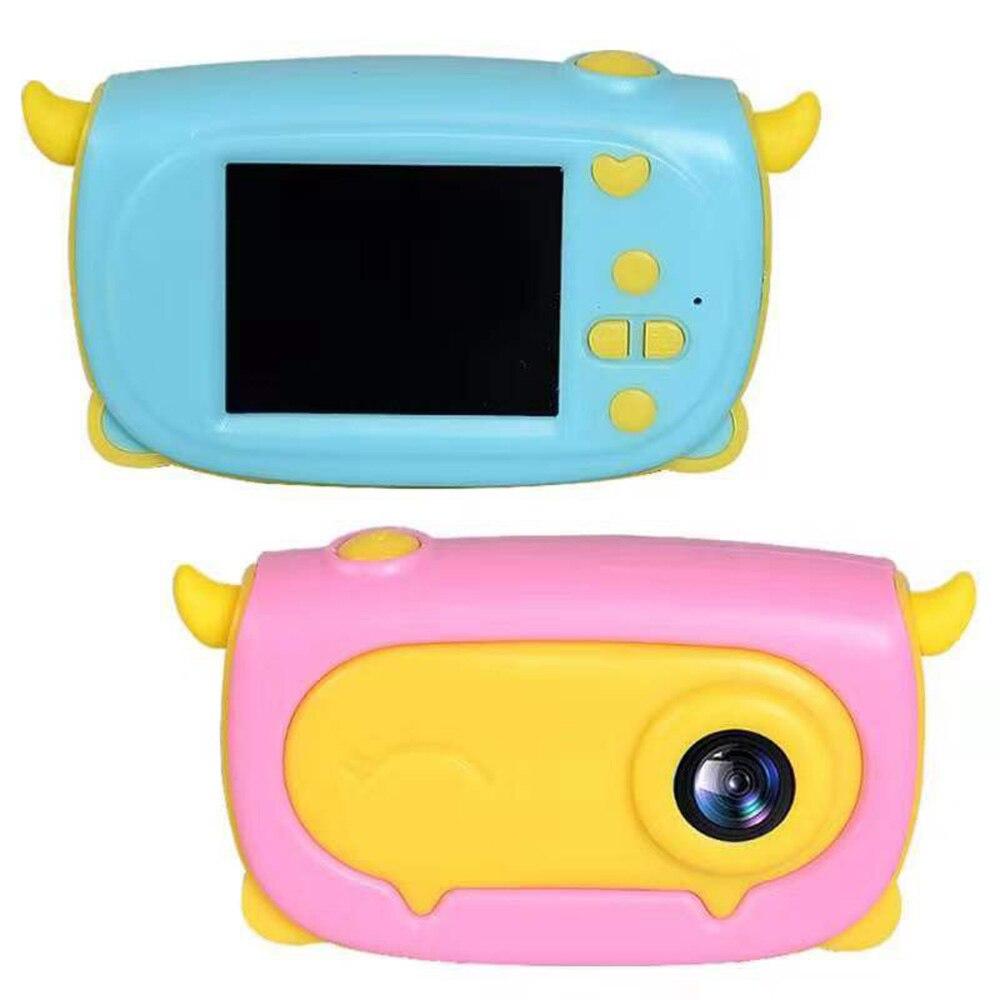 HD 1080P cámara Digital portátil para niños Tomar foto cámara de vídeo completa 2 pulgadas pantalla LCD niños para regalo de cumpleaños chico