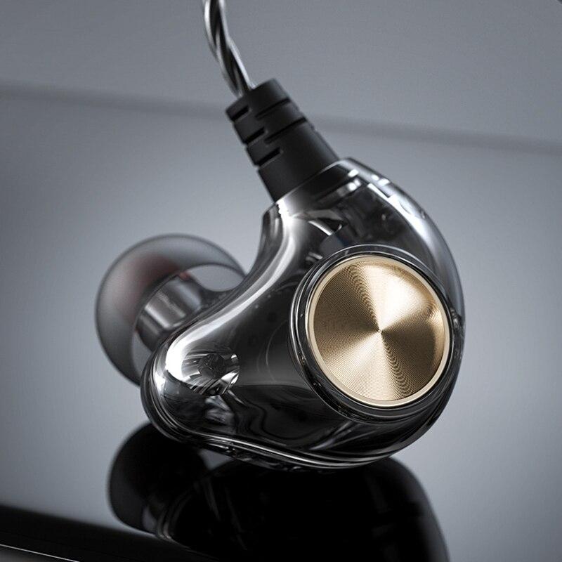 Fone de ouvido baixo para samsung, huawei xiaomi 3.5mm jack com fones de ouvido com fio in-ear anti-derramamento esporte fone de ouvido