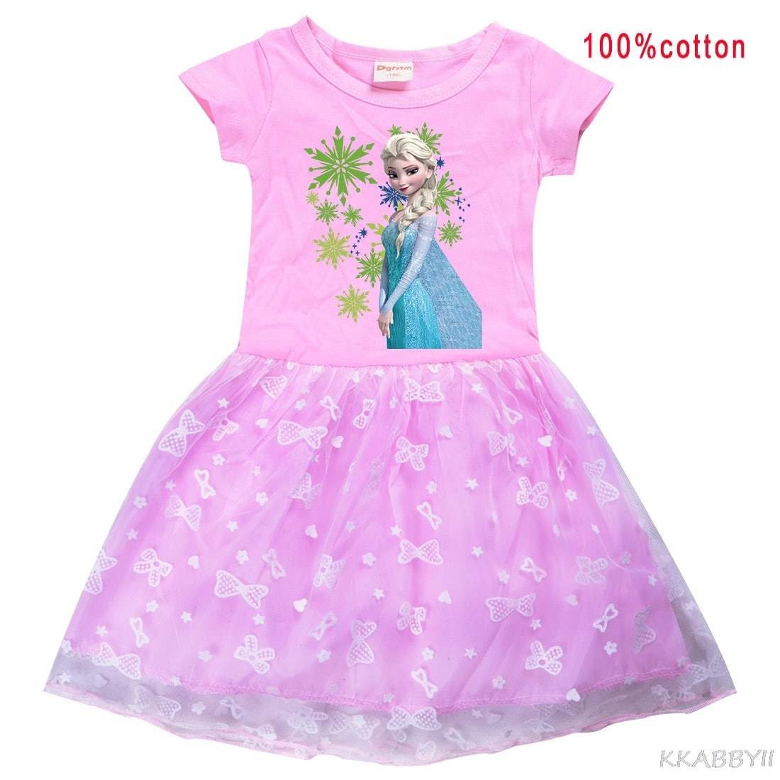 Frozen Kids Girls Clothing Baby girl  Dresses  Causal Dress Costume For Kid Clothes Dress