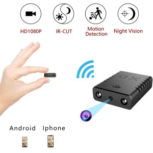 The Newest HD1080P Mini Wifi Camera Infrared Night Vision Cam Surveillance IP/AP Camera Motion Detection support hiddden TF card