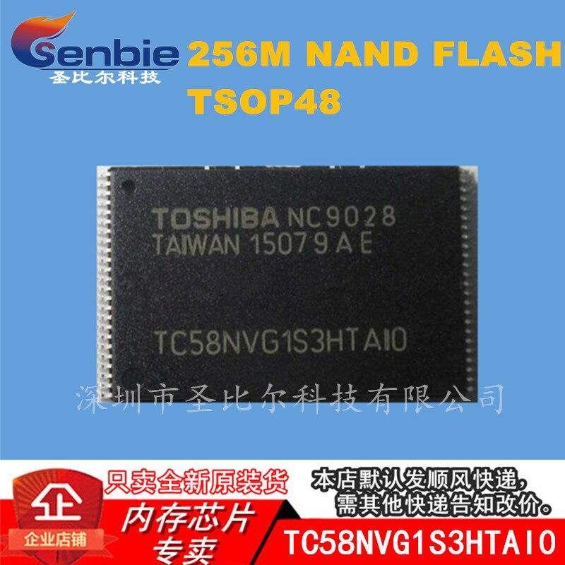 New10piece TC58NVG1S3HTAI0 256Mb 2Gbit TSSOP48 Geheugen Ic