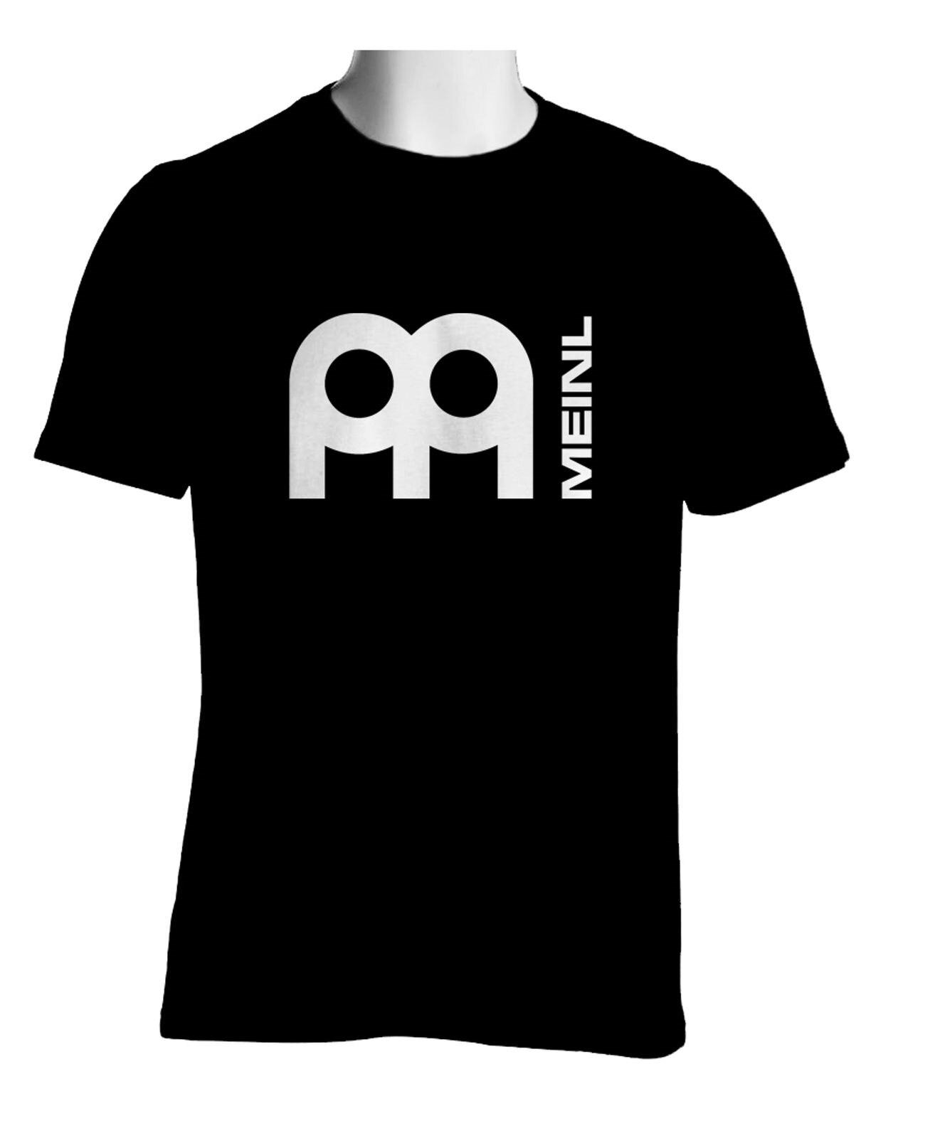 Camiseta negra para hombre de camisa con Logo de platillo de percusión...