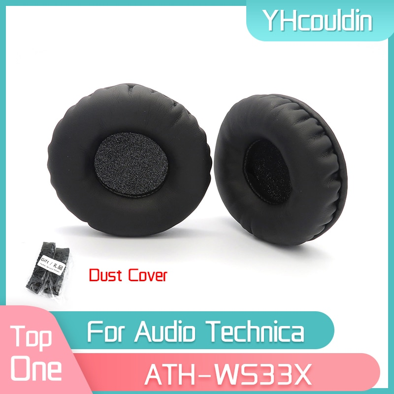 YHcouldin Earpads For Audio Technica ATH-WS33X ATH WS33X Headphone Replacement Pads Headset Ear Cushions yhcouldin ear pads for audio technica ath ws550 ath ws550is headphone replacement earpads ear cushions