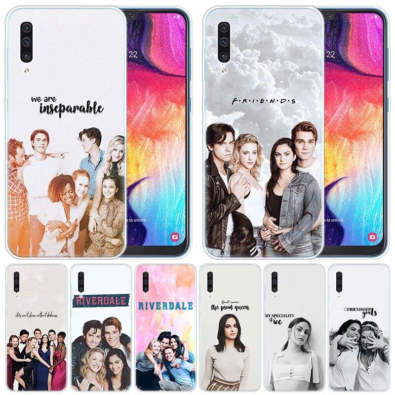 De Lujo suave caso de Riverdale serpientes de Southside para Samsung Galaxy A50 A70 A80 A40 A30 A20 A10 A20E A2 CORE A9 a8 A7 A6 Plus 2018