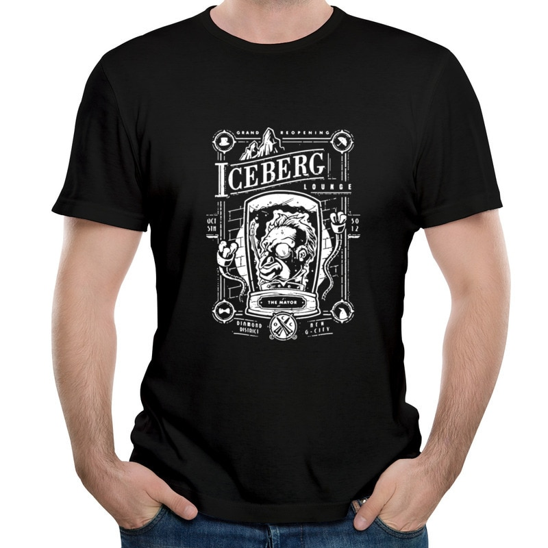 Lounge Penguin Hip hop magliette economiche comode magliette oversize magliette aderenti per Unisex