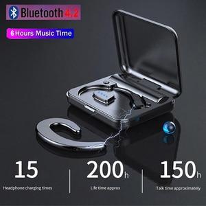 HD Call Bluetooth Earphones Wireless Headphones Sports Bone Conduction Bluetooth Earphone Stereo Earbuds Noise Canceling Headset