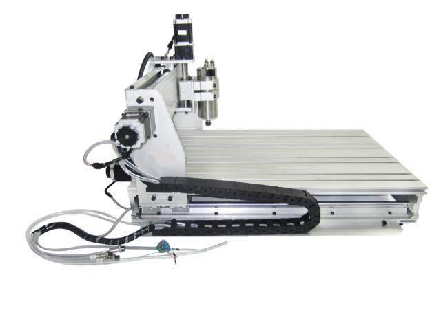 EU free ship 4 Axis CNC Router Machine Wood Lathe 6040 CNC 1500W CNC Router Engraver Engraving Drilling Milling Machine 220V/AC enlarge