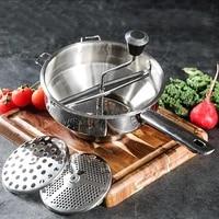 potato masher stainless steel vegetable fruits puree pressing tool pumpkin grinder food mashing kitchen accessories