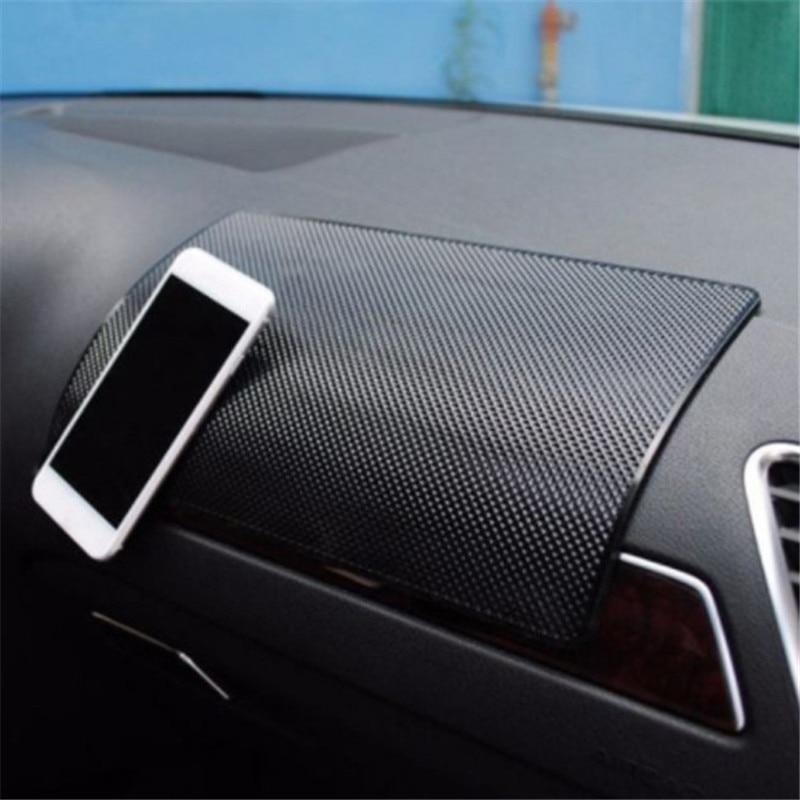 Автомобильный нескользящий коврик, автомобильный силиконовый коврик для салона приборной панели телефона, нескользящий коврик для хранен...