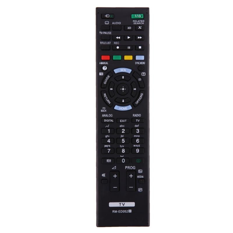 RF Remote Control Replacement for SONY TV RM-ED050 RM-ED052 RM-ED053 RM-ED060 RM-ED046 RM-ED044 Television Remote Controller New new rm sdrmv150a replacement for jvc dvd rm sdrmv150a rm sdrmv100a drmv80b drmv150 drmv100b drmv7 drmv77s dvd remote control