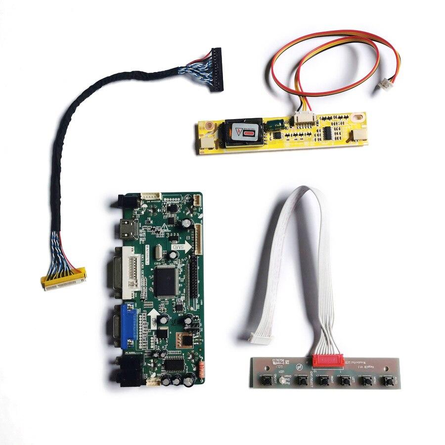 2CCFL 1440*900 VGA DVI صالح HSD170MGW1/HT190WG3/M190MWW3/M190MWW4 مصفوفة 30 دبوس M.NT68676 مراقب المراقب مجلس كيت LVDS