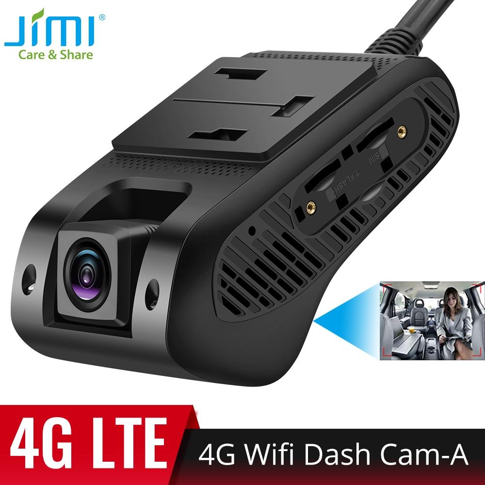 جيمي 4G سيارة داشكام JC400P تتبع نظام تحديد المواقع مع واي فاي 2 لايف ستريم فيديو سجل سحابة تخزين البطارية قطع الوقود عن بعد 1080P DVR